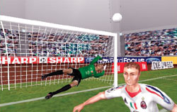 3D fotbal - screenshot